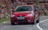 Seat Ibiza from front
