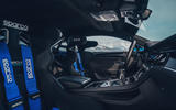 2020 Bentley Ice Race Continental GT - front seats