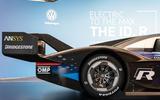 Volkswagen ID R Nurburgring attempt premiere - rear wing