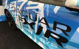 Jaguar XJR in wrap disguise