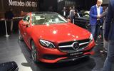 2017 Mercedes-Benz E-Class Coupe makes public debut in Detroit