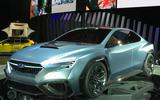 Subaru Viziv Tourer concept to preview WRX estate
