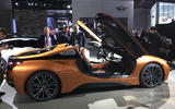 BMW i8 Roadster unveiled with 369bhp