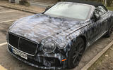 2019 Bentley Continental GT C spotted in Britain in W12 form