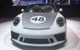 Porsche 911 Speedster 2019 - New York motor show - heritage edition