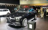 2019 Mercedes-Benz GLE Coupe Frankfurt appearance