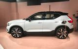 2020 Volvo XC40 Recharge - side