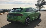 Audi RS Q8 at LA motor show 2019 - rear