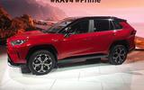 Toyota RAV4 Prime PHEV 2019 at LA motor show - front
