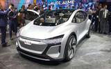 Audi AI:ME show picture - front