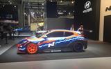Hyundai Veloster N ETCR at the Frankfurt motor show