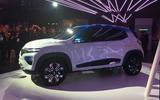 Renault K-Ze concept Paris Motor Show 2018 side