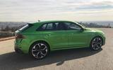 Audi RS Q8 at LA motor show 2019 - side