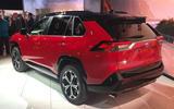 Toyota RAV4 Prime PHEV 2019 at LA motor show - rear