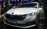 Skoda Octavia 2020 estate official launch - front grille