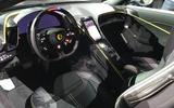 Ferrari Roma interior 1