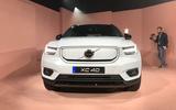2020 Volvo XC40 Recharge - front
