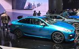 BMW 2 series gran coupe at LA show