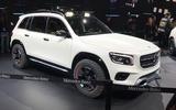 Mercedes-Benz GLB concept - front 3/4