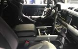 Land Rover Defender bond car  interior
