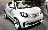Smart Forease concept shown at Paris motor show