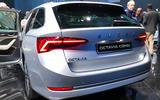 Skoda Octavia 2020 estate official launch - rear boot
