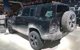 Land Rover Defender bond car  other side