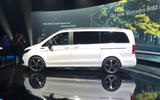 Mercedes-Benz EQV official reveal - side