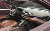 Ferrari 812 GTS reveal - static dashboard