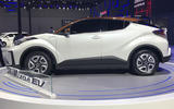 Toyota C-HR EV - side