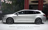 Toyota Corolla Touring Sports revealed at Paris motor show