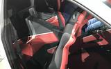 Ferrari Roma interior 2