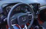 New Volvo XC40 interior