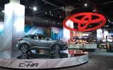 Toyota stand LA motor show