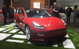 Tesla Model 3 LA motor show