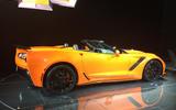 Chevrolet Corvette ZR1 convertible