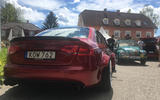 Volkswagen Beetle Audi A4 Worthersee