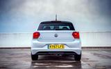 VW Polo Beats 1.6 TDI rear on