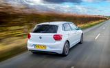 VW Polo Beats 1.6 TDI rear side