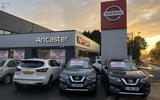 Nissan dealership with click-and-collect, 2021