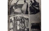 1977 Mercedes-Benz 230C interior features collage