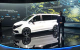 Mercedes-Benz EQV official reveal - front 3/4