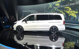 Mercedes-Benz EQV official reveal - side