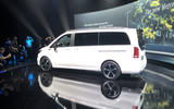 Mercedes-Benz EQV official reveal - rear 3/4