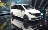 Mercedes-Benz EQV launch - front