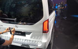 Mercedes-Benz EQV official reveal - rear