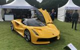 2020 Lotus Evija at Concours of Elegance - front
