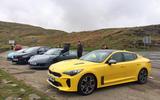 Kia Stinger GT S long-term review group test