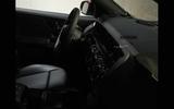 Mercedes EQA prototype shot interior