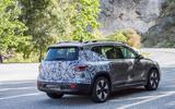 New Mercedes EQB spyshots